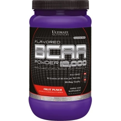 Порошковые BCAA 12000 Powder фирмы Ultimate Nutrition