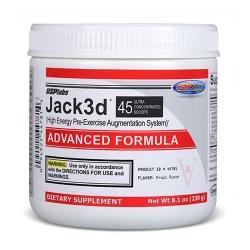 Предтренировочный комплекс Jack3d Advanced от USPlabs
