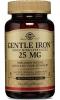 Капсулы легкодоступное железо Gentle Iron 25 mg Solgar